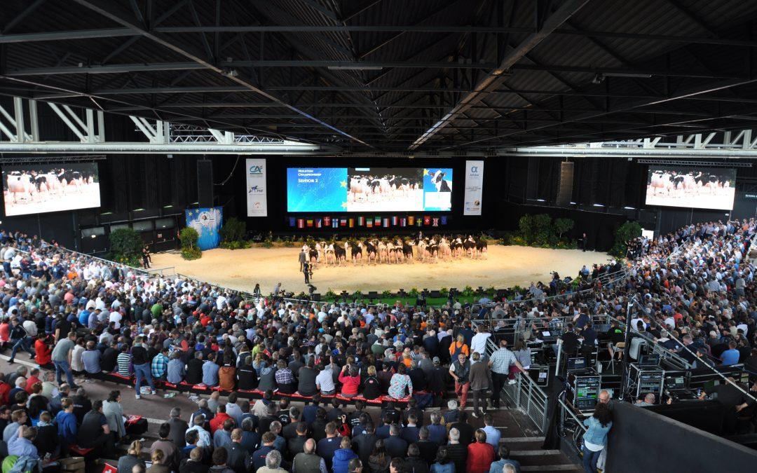 Evropský holštýnský šampionát v Colmaru