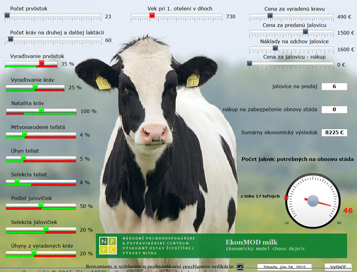 Aplikace v živočišné výrobě