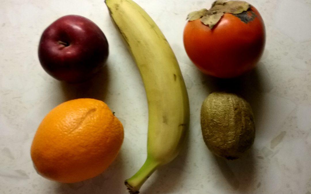 Teploty skladování ovoce a zeleniny