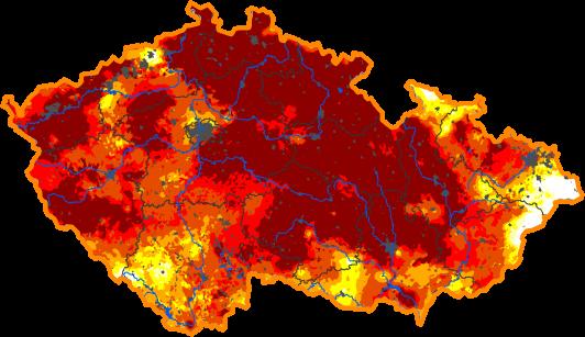 Extrémní sucho postihlo již 3/5 území ČR