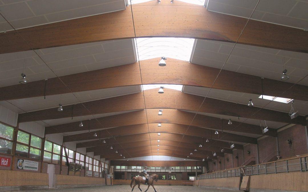 Mikroklima v prostorech pro koně