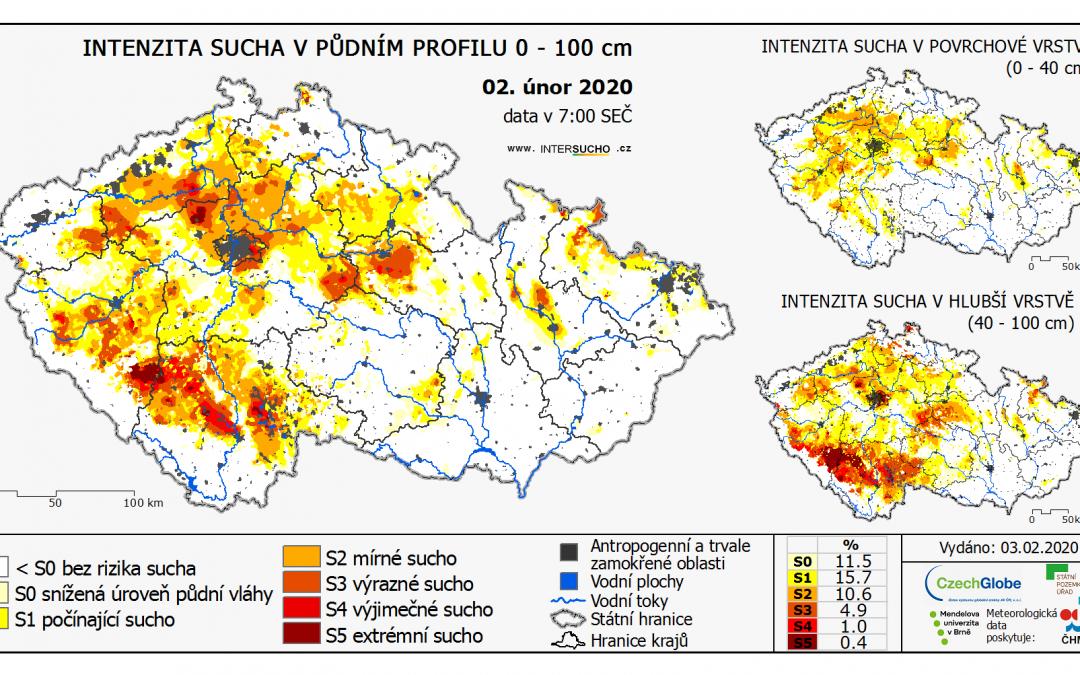 Sucho postihlo v posledních letech i sousedy Česka